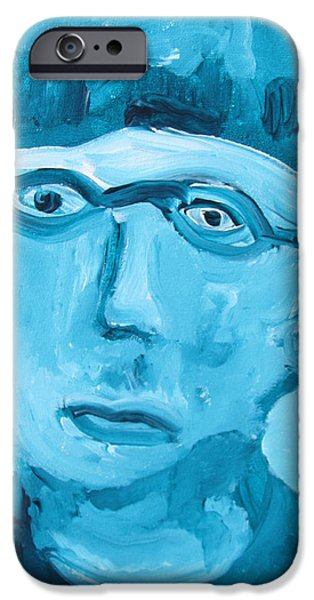 Face One iPhone Case by Shea Holliman