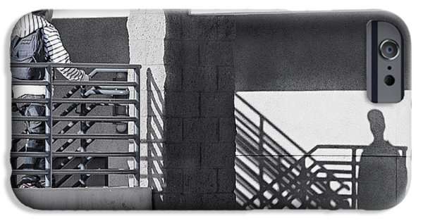 Staircase iPhone Cases - Face to Face iPhone Case by Caitlyn  Grasso