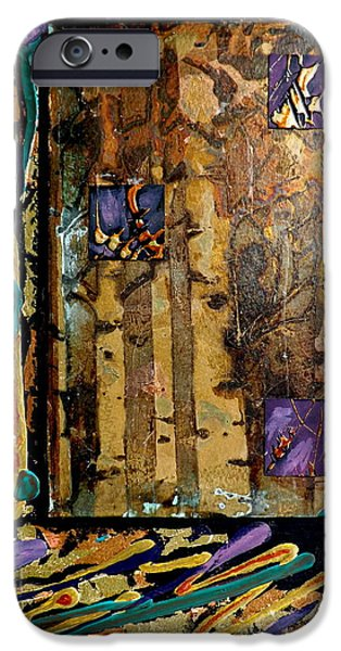 Multimedia iPhone Cases - Faces In The Doorway iPhone Case by Darren Robinson