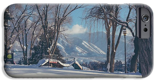 Recently Sold -  - Snow iPhone Cases - Facing the Park iPhone Case by Gloria Pasko