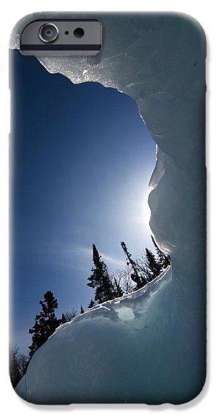 Sandra Updyke iPhone Cases - Facing the wind iPhone Case by Sandra Updyke