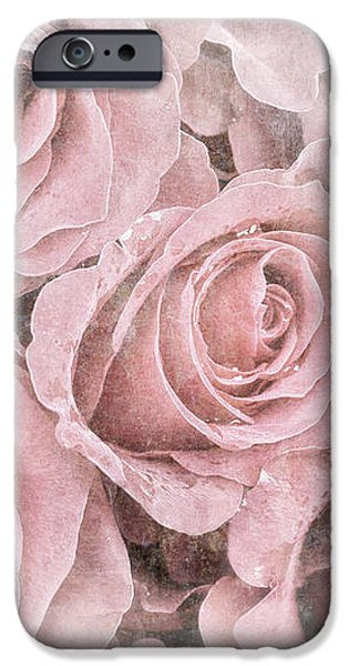 Faded roses iPhone Case by Jane Rix
