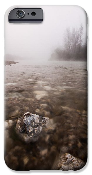 Fog Mist iPhone Cases - Fading iPhone Case by Davorin Mance