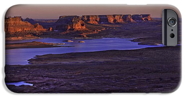 Beautiful Vistas iPhone Cases - Fading Light iPhone Case by Chad Dutson