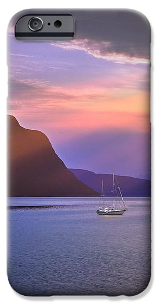 Fading of the Light iPhone Case by Edmund Nagele