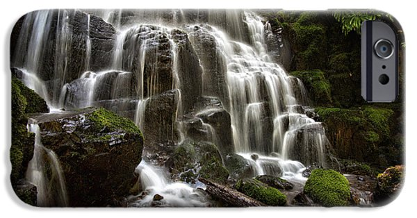 Recently Sold -  - Creek iPhone Cases - Fairy Falls Oregon iPhone Case by Mary Jo Allen