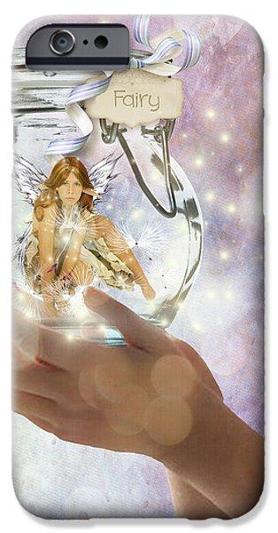 Fairy iPhone Case by Juli Scalzi