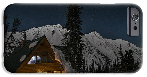 Moonscape iPhone Cases - Fairy Meadows iPhone Case by Ian Stotesbury