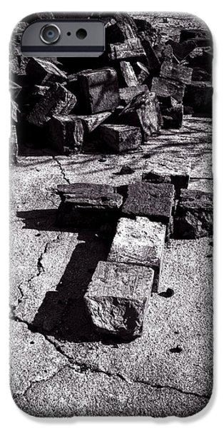 Faith Among The Ruins iPhone Case by Bob Orsillo