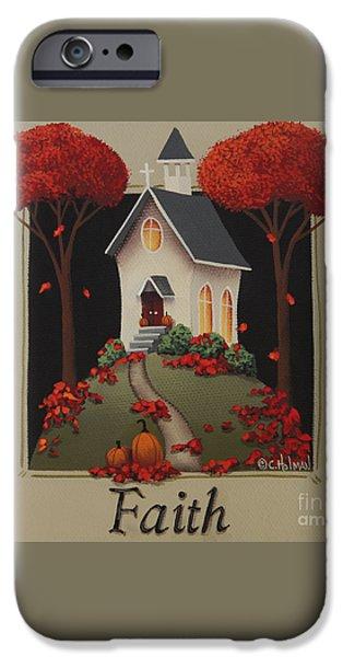 Faith Country Church iPhone Case by Catherine Holman