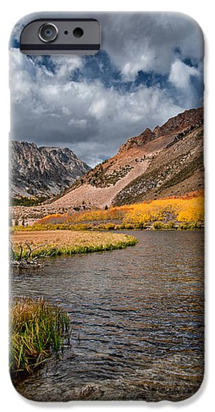 Fall at North Lake iPhone Case by Cat Connor