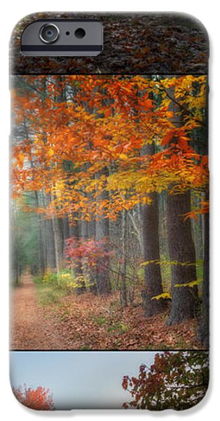 Fall In New England iPhone Cases - Fall iPhone Case by Bill  Wakeley