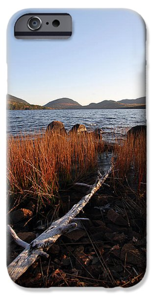 Fall Colors at Eagle Lake in Maine iPhone Case by Juergen Roth
