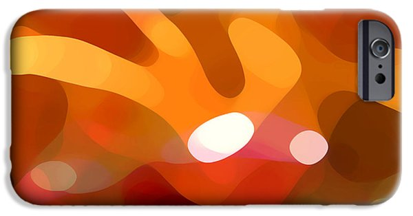 Best Sellers -  - Abstract Forms iPhone Cases - Fall Day iPhone Case by Amy Vangsgard