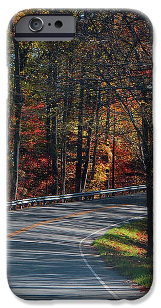 Fall Drive in Tennessee iPhone Case by EricaMaxine  Price