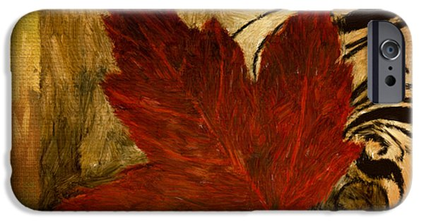 Contemporary Home iPhone Cases - Fall Festiveness iPhone Case by Lourry Legarde