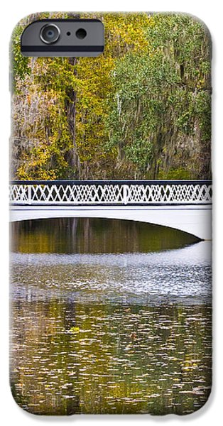 Fall Footbridge iPhone Case by Al Powell Photography USA