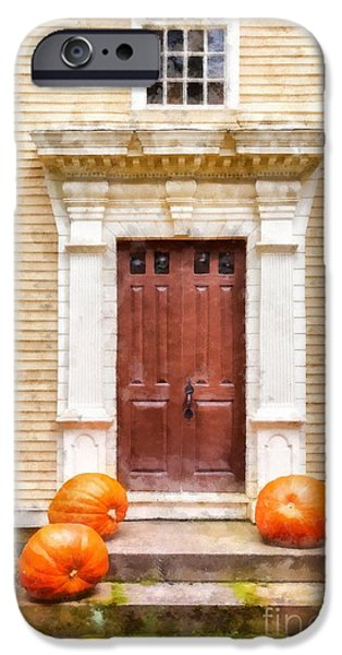 Gourd iPhone Cases - Fall Harvest iPhone Case by Edward Fielding