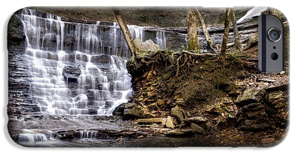Natchez Trace Parkway iPhone Cases - Fall Hollow Falls Natchez Trace Parkway Tennessee iPhone Case by Joe Granita