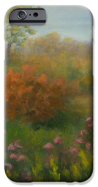 Fall In New England iPhone Case by Pamela Allegretto