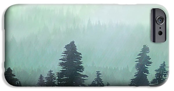 Pastureland iPhone Cases - Fall in the Northwest iPhone Case by Jeff Burgess