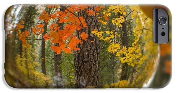 West Fork iPhone Cases - Fall in your Future 3 iPhone Case by Marianne Jensen