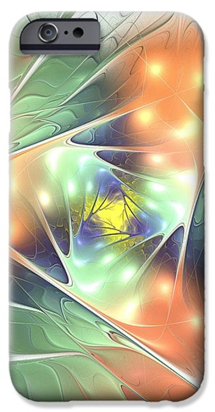 Leaves iPhone Cases - Fall Kaleidoscope iPhone Case by Anastasiya Malakhova