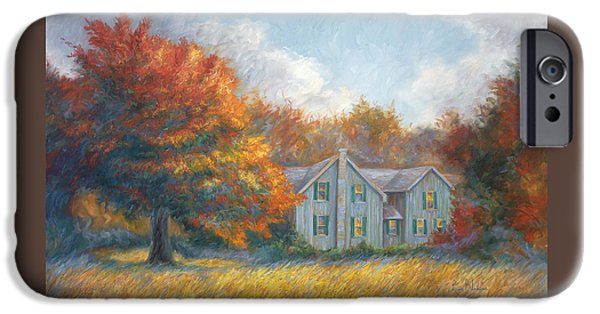 New England Autumn iPhone Cases - Fall iPhone Case by Lucie Bilodeau