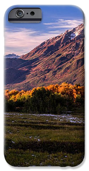 Fall Meadow iPhone Case by Chad Dutson