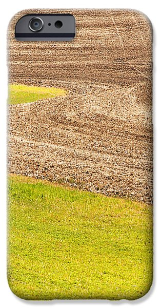 Fall Plowing iPhone Case by Doug Davidson