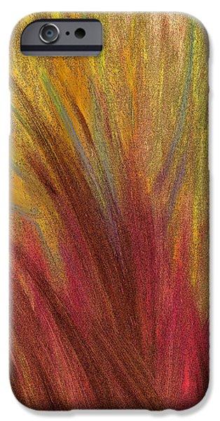 Fall Prairie Grass by jrr iPhone Case by First Star Art