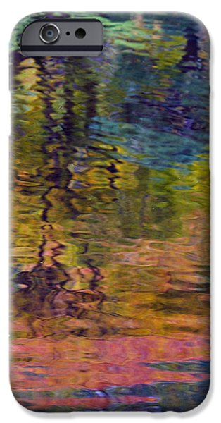 Fall iPhone Cases - Fall Reflections iPhone Case by Rebecca Cozart