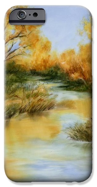 Fall River iPhone Case by Summer Celeste