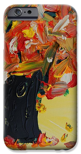 Small iPhone Cases - Fall Tree iPhone Case by Sara Gardner