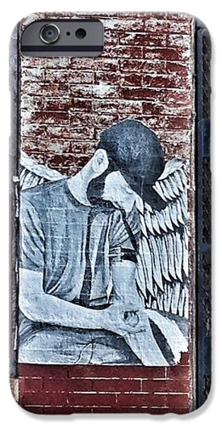 Fallen Angels iPhone Cases - Fallen Angel iPhone Case by Marianna Mills
