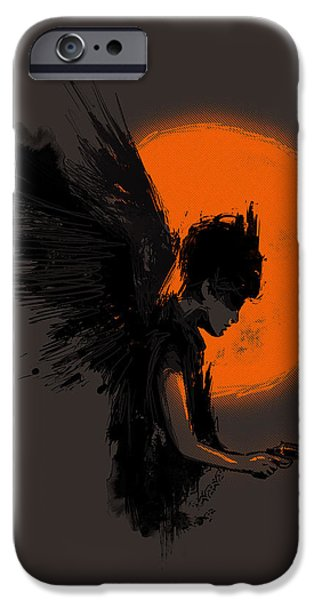 Fallen one iPhone Case by Budi Satria Kwan
