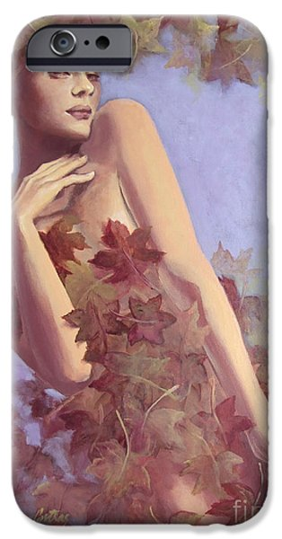 Fall...in love... iPhone Case by Dorina  Costras