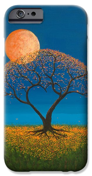 Autumn Trees iPhone Cases - Falling For You iPhone Case by Jerry McElroy