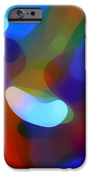 Abstract Digital iPhone Cases - Falling Light iPhone Case by Amy Vangsgard