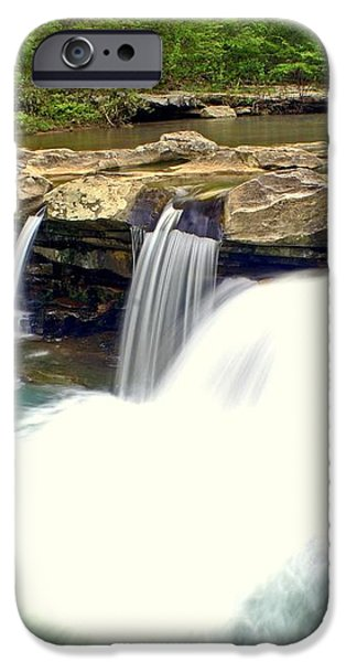 Falling Waters Falls 4 iPhone Case by Marty Koch