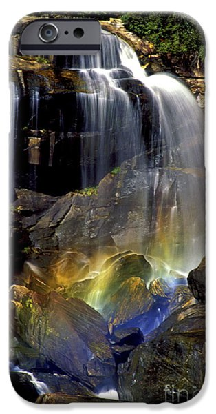 Impressions Of Light iPhone Cases - Falls and Rainbow iPhone Case by Paul W Faust -  Impressions of Light