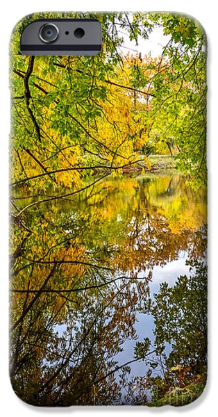 Falls Beauty iPhone Case by Baywest Imaging