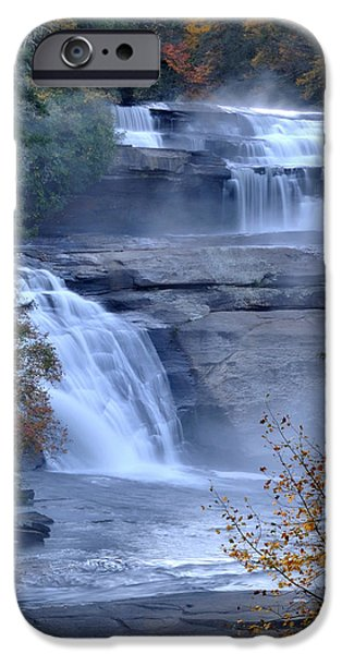 Tripple iPhone Cases - Falls of Fall iPhone Case by Hurcell Fleming