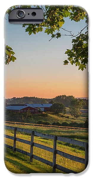 Family Farm iPhone Case by Bill  Wakeley