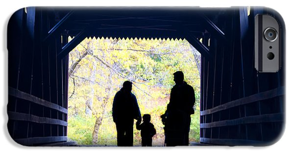 Family Time iPhone Cases - Family Time iPhone Case by Bill Cannon