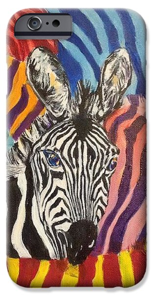 Normal Paintings iPhone Cases - Fancy dress? iPhone Case by Chris Irwin Walker