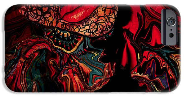 Netting Mixed Media iPhone Cases - Fantasy Dream iPhone Case by Natalie Holland