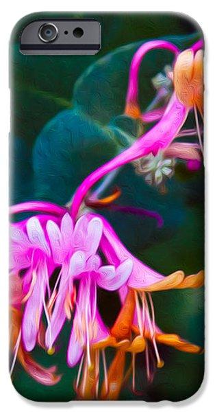 Fantasy Flowers iPhone Case by Omaste Witkowski