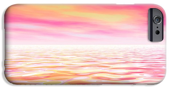 Healing Posters iPhone Cases - Fantasy World iPhone Case by Indira Emmerlich