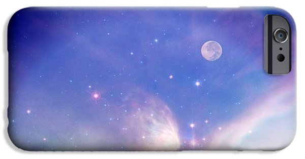 Michelle iPhone Cases - Fantasy World iPhone Case by Michelle Frizzell-Thompson